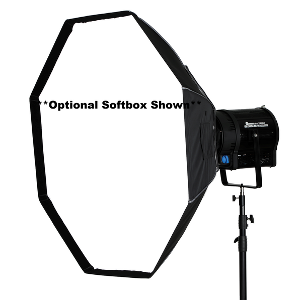 "Light Cannon - F-800 POWERHOUSE EDITION - Bi-Color LED Fresnel - 10"" Lens W/ DMX & Wireless Control"