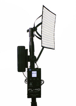 "FL-40 AIRLIGHT KIT- Flexible LED Light Mat. 10""x10"" Panel, Bi-Color with Full Kit (Socanland)"