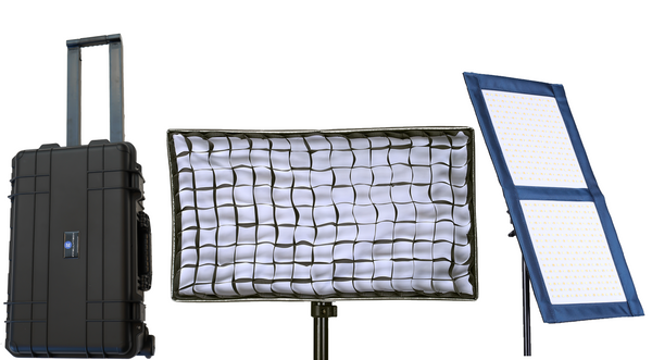 2 Light Kit - LC-100 1x2 Foldable LED Mat
