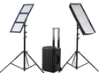 2 Light Kit - LiteCloth LC-120 - 1x3 Foldable LED Mat