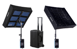 2 Light Kit - LiteCloth LC-160 - 2'x2' Foldable LED Mat