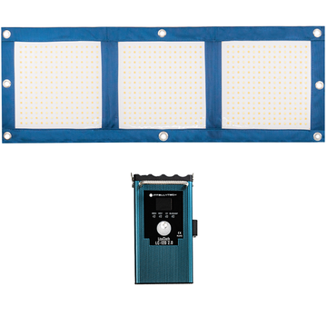 LiteCloth LC-120 2.0 - 1x3 Foldable LED Mat Kit