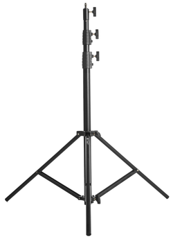 LS-2900HD Light Stand - Heavy Duty, Air Cushioned (Black, 9.5')