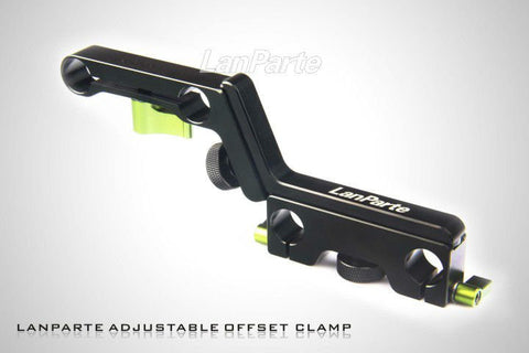 Lanparte OFC-02. Adjustable Offset Z-Clamp (15mm)