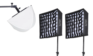 3 Light Kit - LiteCloth LC-50 - 1x1 LED Mat Kit