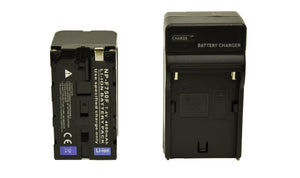 NP-F750 (4600mAh L-Series) Battery W/ Charger Kit