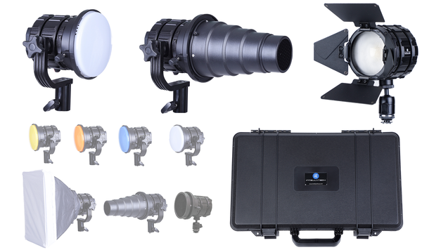 Pocket Cannon Mini - 3 Light Kit