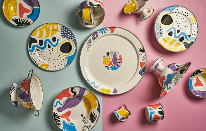 How Utility Became Chic: The Story of Enamel to Enamelware