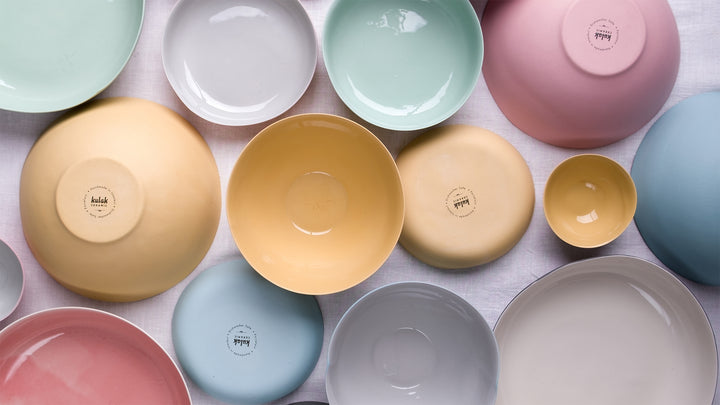 Feast your eyes with Handmade Porcelain Dinnerware