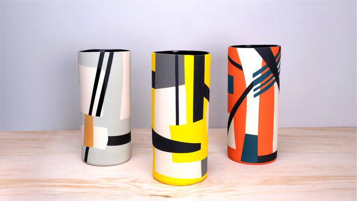 Be Cool with Sally Blair's Bauhaus Inspired Vases