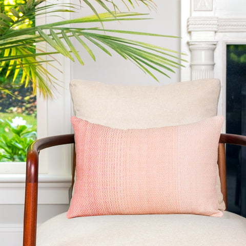 Pink Horizon Lumbar Pillow - Darling Spring