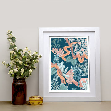 Jungle Cats Art Print - Darling Spring