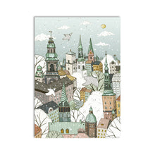 Seasons Of Copenhagen Art Print Set