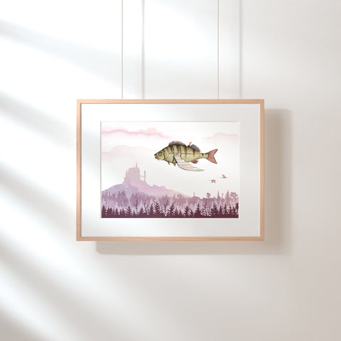 Fishy Dreams Art Print