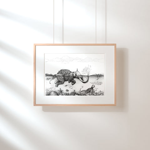 The Elephant Island Fine Art Print - Darling Spring