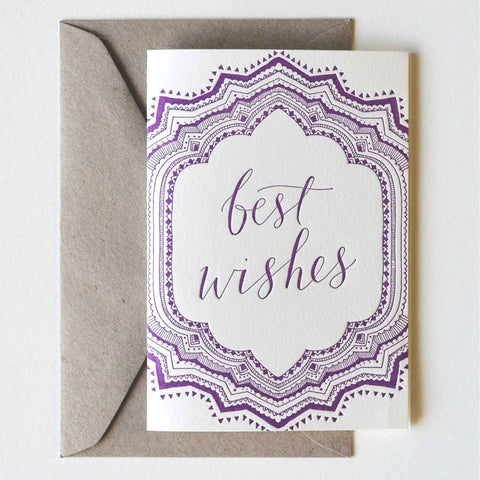 Best Wishes Greeting Card - Darling Spring