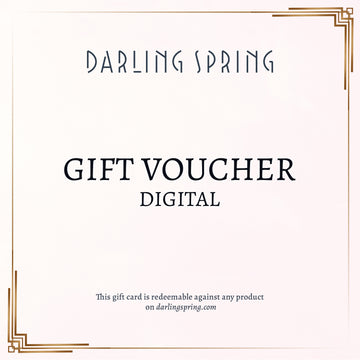Darling Spring Digital Gift Voucher - Darling Spring