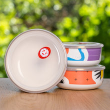 Kapka Flashback Enamel Food Storage Container