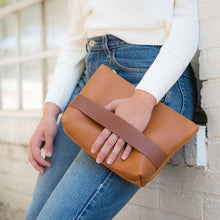 Neva Opet Carolee Leather Clutch
