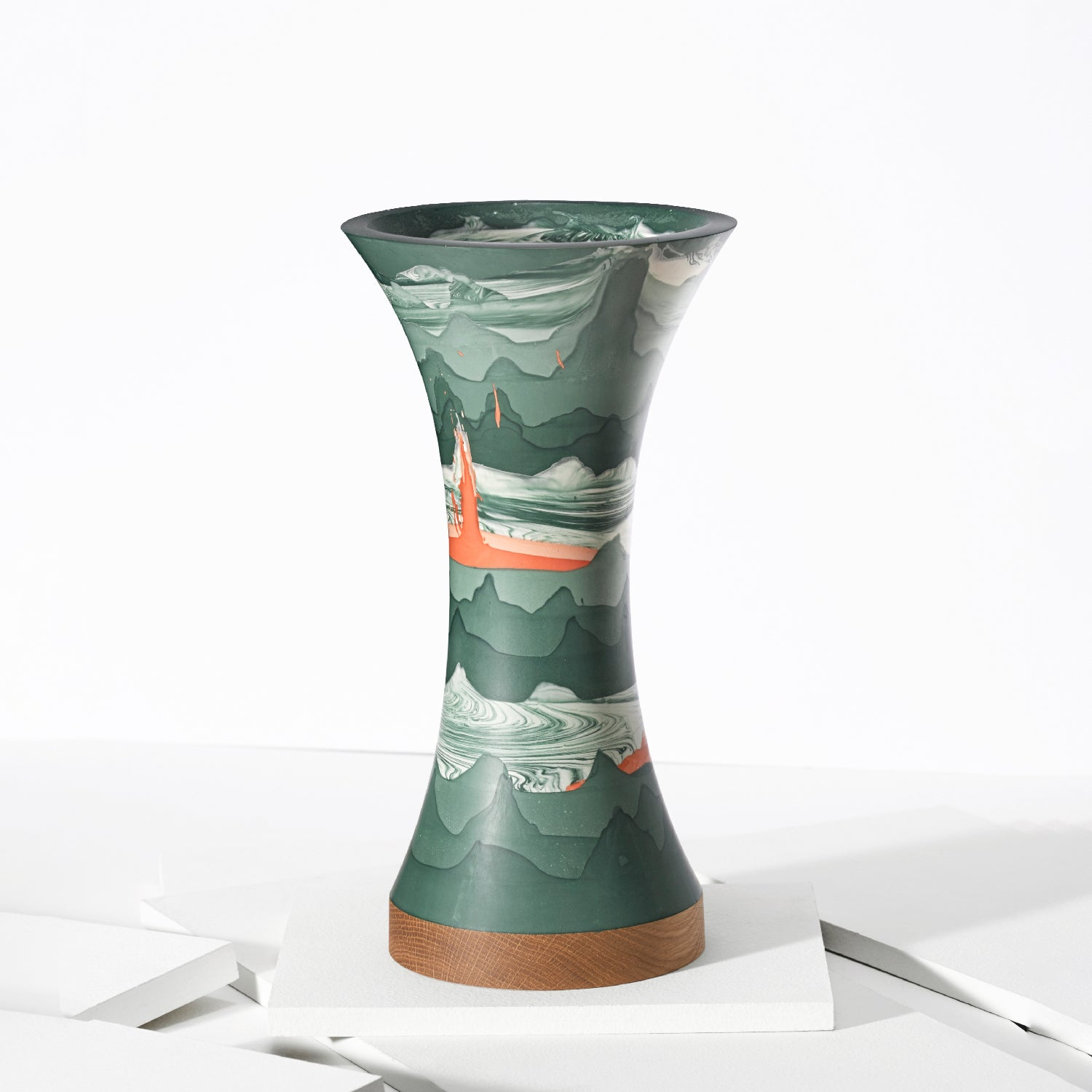 Ground Green Vase