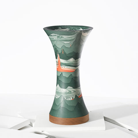Ground Green Vase - Darling Spring