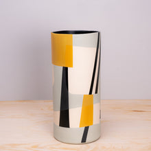 Sally Blair Bauhaus Mint Ceramic Vase