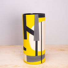 Sally Blair Bauhaus Yellow Ceramic Vase