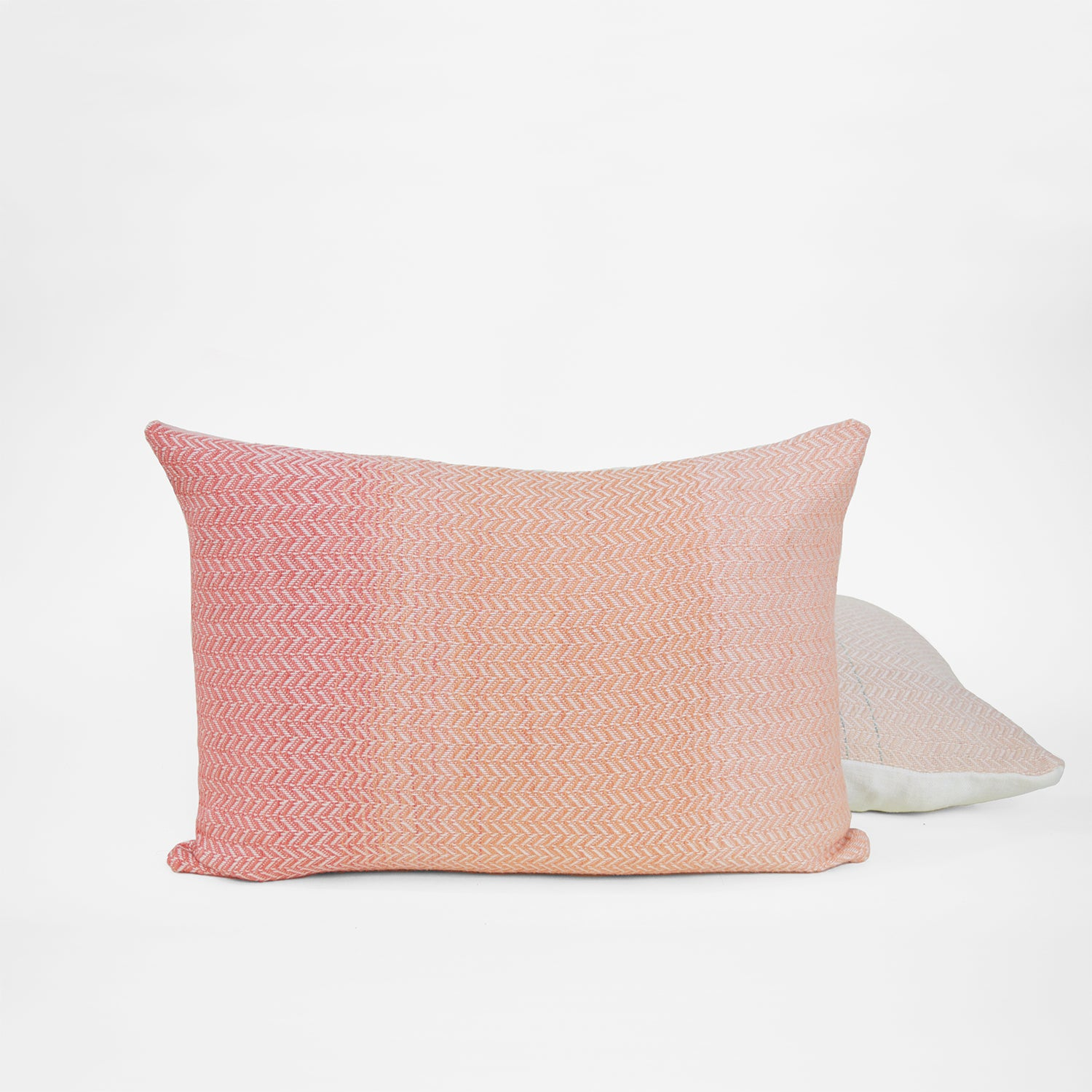 Pink Horizon Lumbar Pillow
