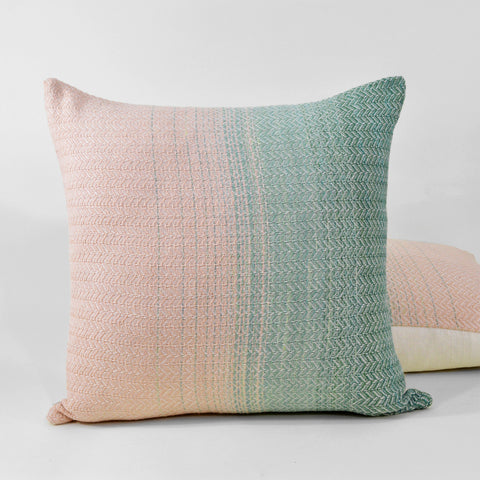 Green Horizon Throw Pillow - Darling Spring