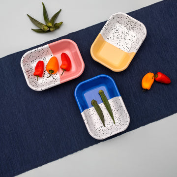 Mind-Pop Mezze Rectangle Plate - Darling Spring