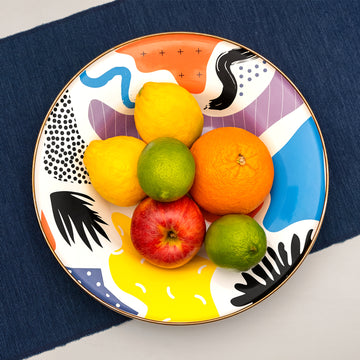 Flashback Big Fruit Plate - Darling Spring