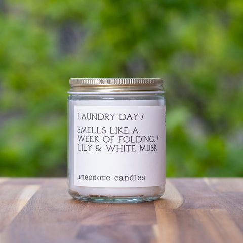 Laundry Day Candle