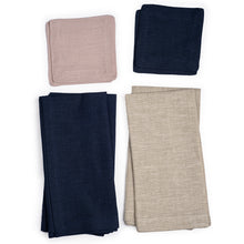 Organic Cocktail Linen Napkin Set of 2