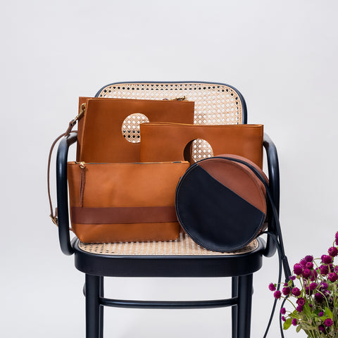 Carolee Leather Clutch