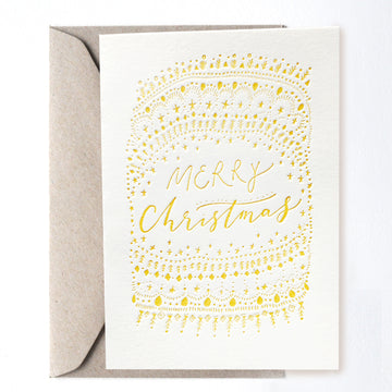 Merry Christmas Greeting Card - Darling Spring