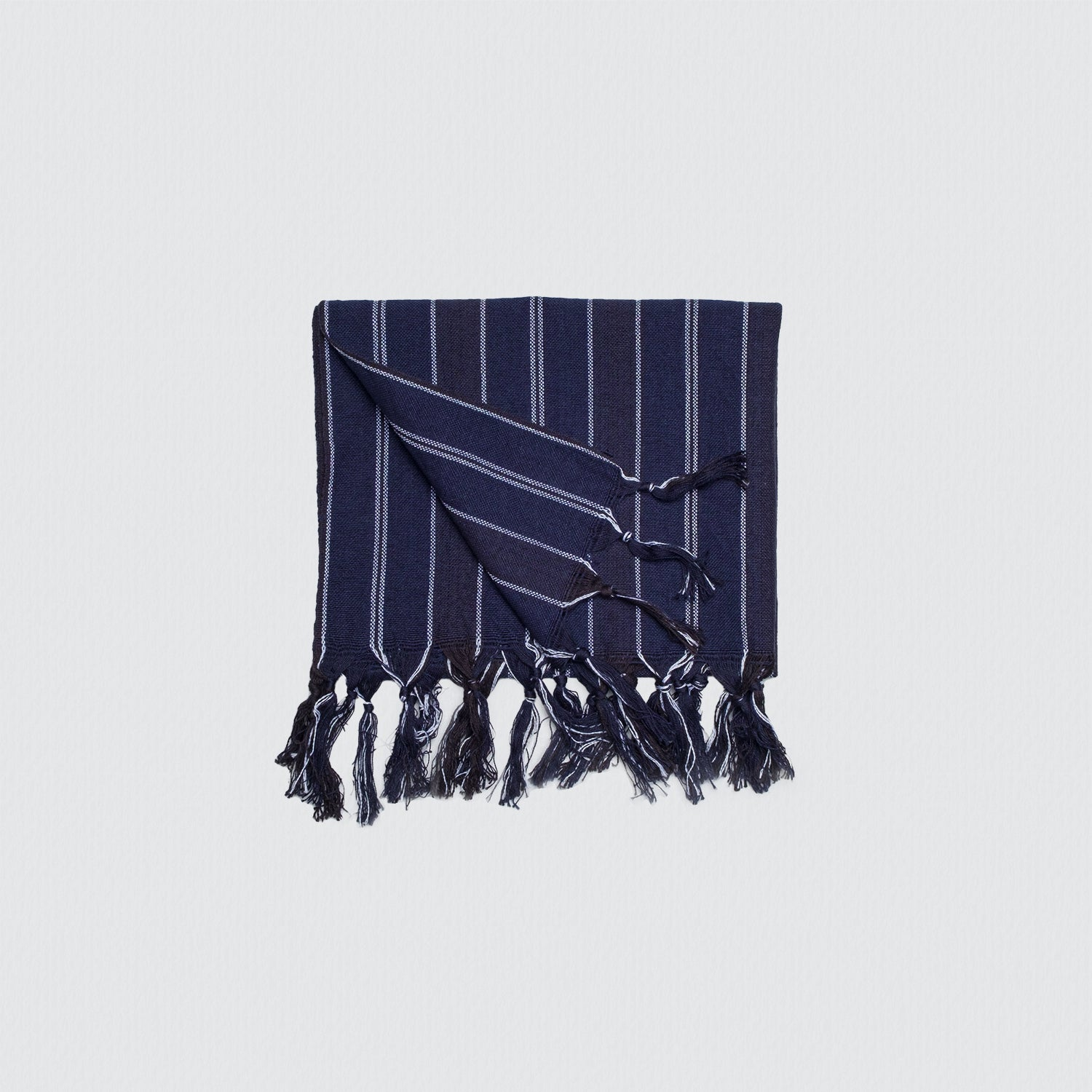 Navy Blue Turkish Towel