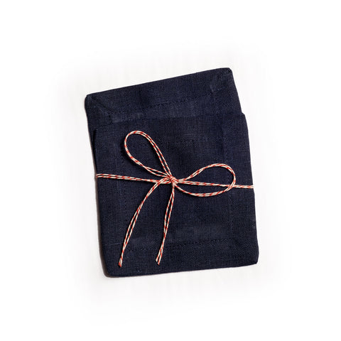 Organic Cocktail Linen Napkin Set of 2 - Darling Spring