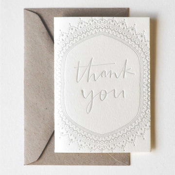 Thank You Greeting Card - Darling Spring