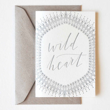 Wild Heart Greeting Card - Darling Spring