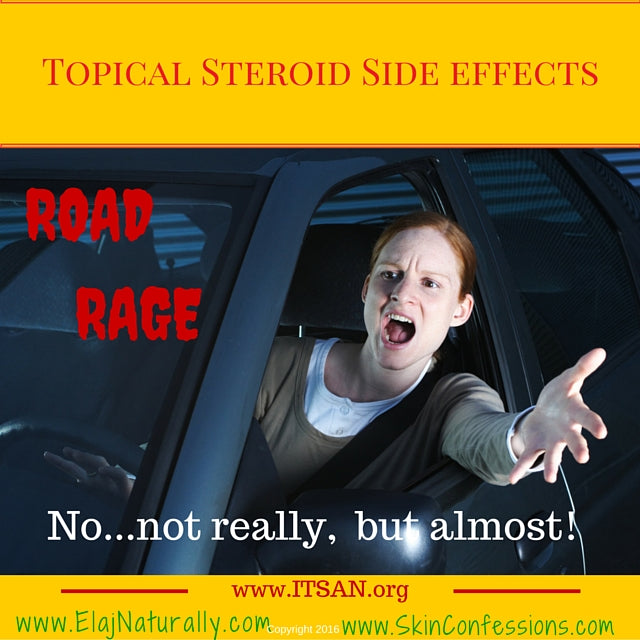 Topical Steroid Side Effects on Aggressive Behavior