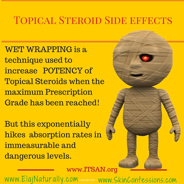 Topical Steroid Side Effects Wet Wrapping