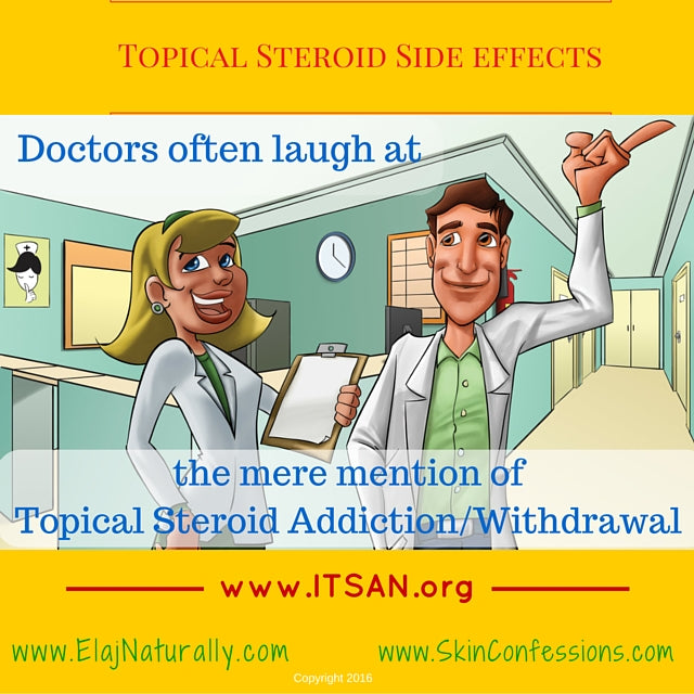 Topical Steroid Side Effects Doctors Don't believe