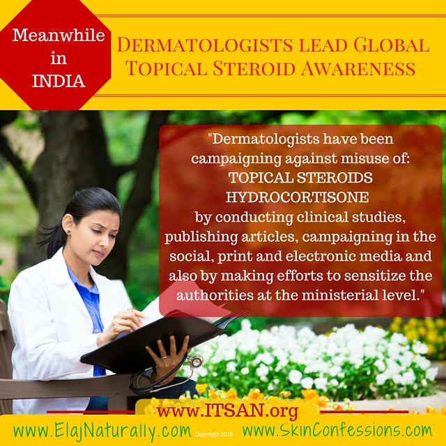 Topical Steroid Side Effects recognized by Indian Dermatologists