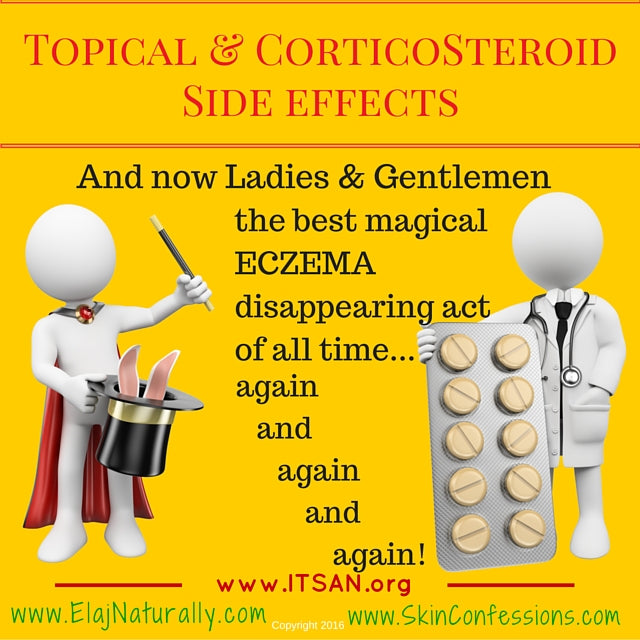 Topical Steroid Side Effects are NOT Magical