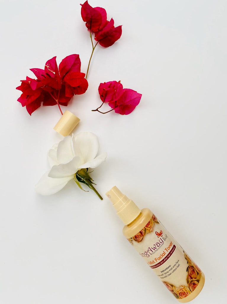 Rose Water and Black Seed Oil Facial Toner