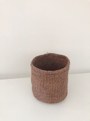 SMALL STORAGE BASKET - SANDSTONE