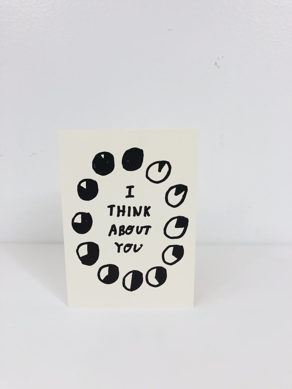 ALL THE TIME CARD