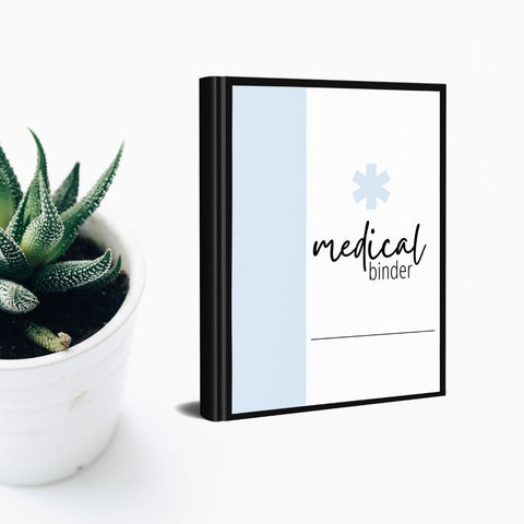Medical Binder Worksheets