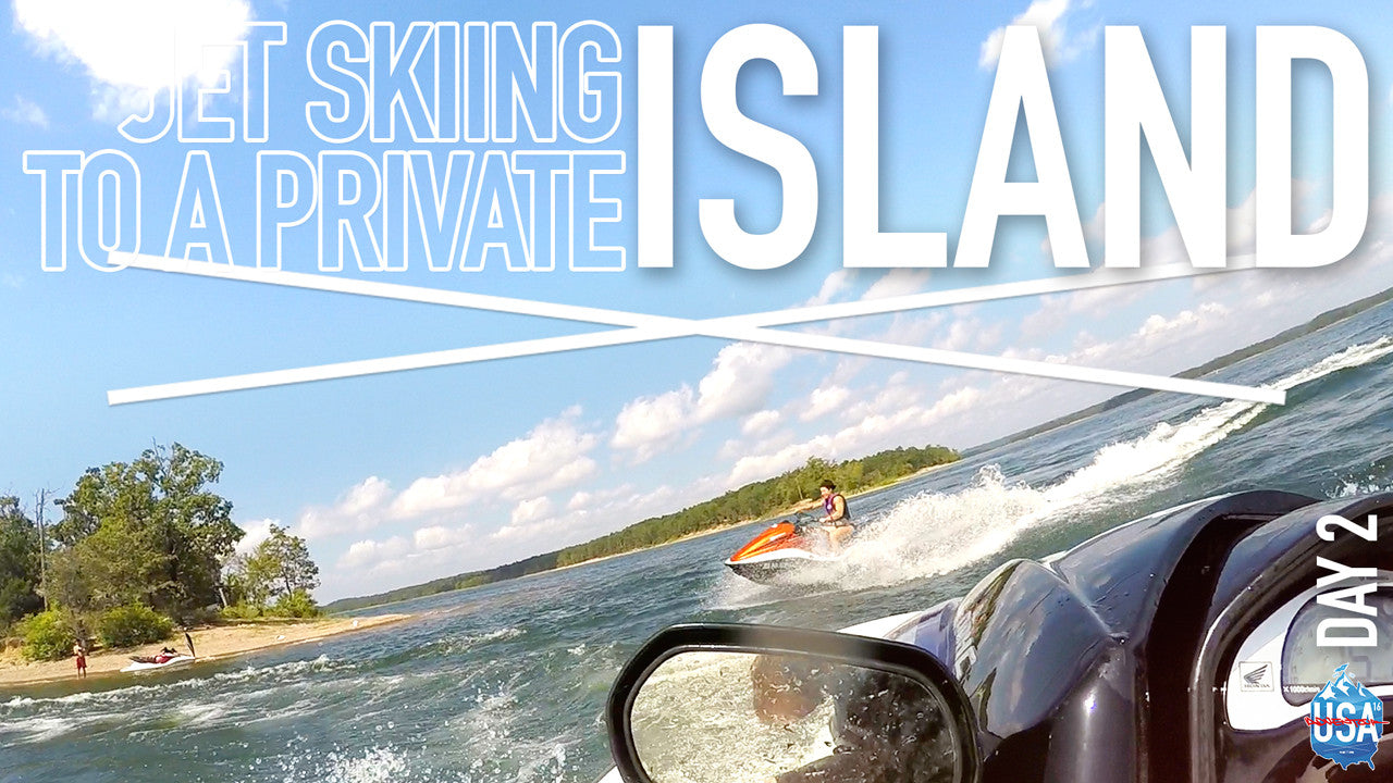 JET SKIING TO A PRIVATE ISLAND | EP. 2 | ADVENTURE TOUR 2