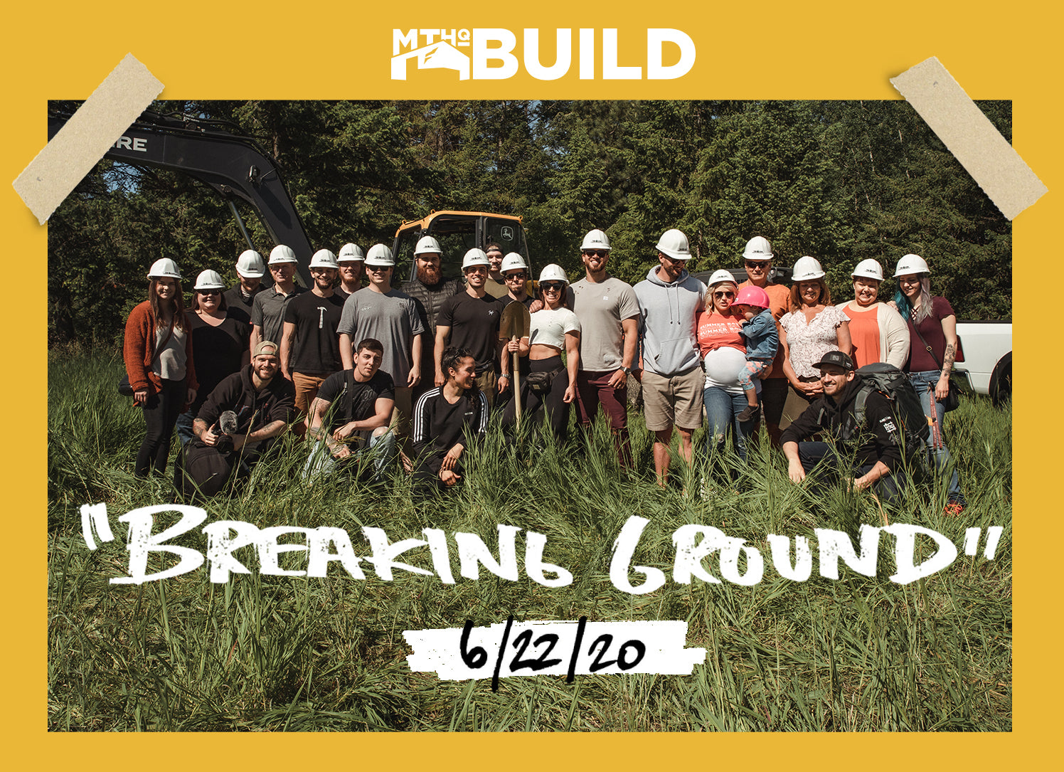 BREAKING GROUND | #MTHQBUILD